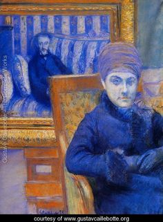 Portrait Of Madame X - Gustave Caillebotte - www.gustavcaillebotte.org