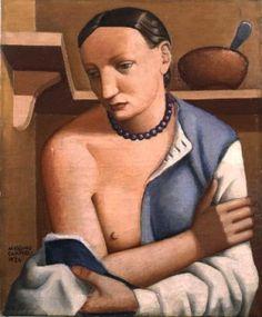 massimo campigli | Massimo Campigli – Donna A Braccia Conserte – 1924