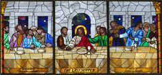 Last Supper - Stained Glass Last Supper Art, Stained Glass Patterns, Butterflies, Funny Quotes, Windows, Painting, Beautiful, Religious Art, Saints