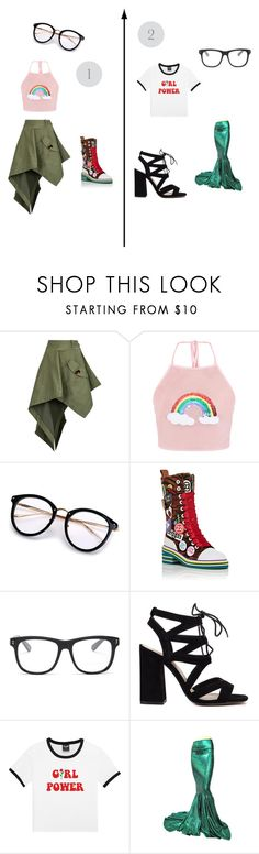 """2 concert outfit ideas"" by eve-steward ❤ liked on Polyvore featuring Monse, Maison Margiela and STELLA McCARTNEY"