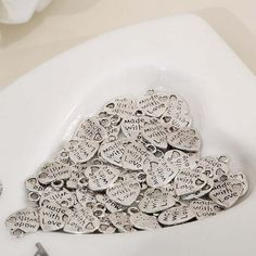 Heart charms 50 pcs/lot for DIY jewelry making charms by 1supply