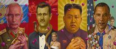 Der gebürtige New Yorker Künstler Alex Gross ist mittlerweile in Los Angeles ansässig und ist eine Koryphäe im Bereich Pop-Surrealismus. Die beeindruckenden Öl-Gemälde des 46-jährigen setzen sich überwiegend kritisch mit Konsum und Globalisierung unserer modernen Welt auseinander. Seine