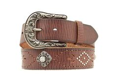 Ariat Punch Out Leather Belt