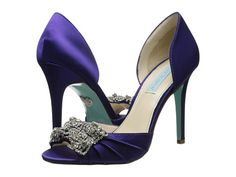 Blue by Betsey Johnson Gown Purple - 6pm.com