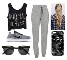 """""""Dreamer"""" by iandmsisters4ever ❤ liked on Polyvore featuring Icebreaker, NIKE, H&M and Mr. Gugu & Miss Go"""