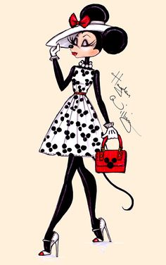 The Minnie Mouse collection by Hayden Williams: 'Minnie ♥ Mickey'