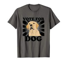 Made a Vote For Dog shirt that I think some of you may like :) --- Doberman Rescue, Rescue Dogs, Dog Wallpaper, R Dogs, Dog Shirt, Funny Texts, Make Me Smile, Funny Animals, Graphic Tees