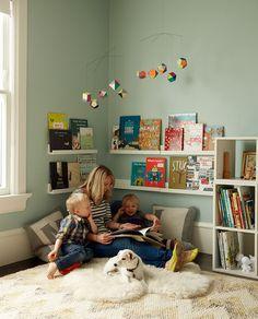Rincón de lectura infantil