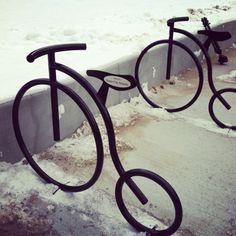 bike racks!