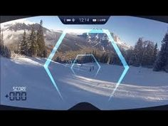 First True Augmented Reality Goggles for Snow Sports!