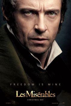 Hugh Jackman character poster #LesMiserables #LesMis