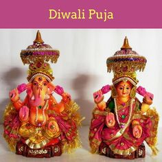 Adore Lakshmi Ganapathi on the day of Diwali festival to get relief from financial related issues. Sri Ganesh, Ganesha, Diwali Pooja, Diwali Festival, Festival Lights, Temple, God, Pictures, Dios