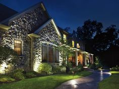 22 Landscape Lighting Ideas : Home Improvement : DIY Network