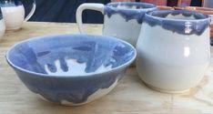 Six Toes Studio Ceramic Bowls, Traditional Art, Etsy Store, Ceramics, Mugs, Studio, Unique Jewelry, Tableware, Handmade Gifts
