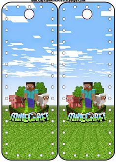 Minecraft: Imprimibles, Imágenes y Fondos Gratis para Fiestas.