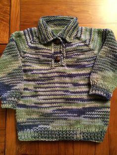 Sweater tejido para Pedro, 4 años,