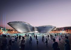 Foster, BIG and Grimshaw Design Main Pavilions for Expo 2020 Dubai,Foster + Partners. Image © Expo 2020 Dubai