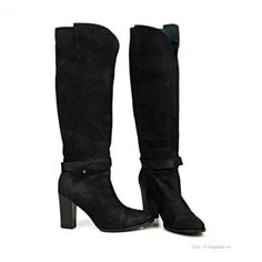 Black Lily - Carla high boot
