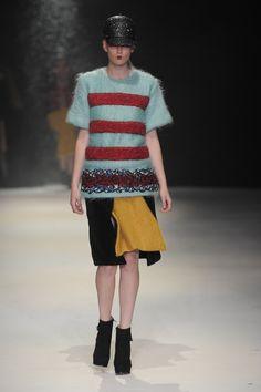 Ayoung Ji - Istituto Marangoni London // Graduate Fashion Week 2013