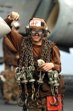 Flight Deck. Photo U.S. D.O.D.