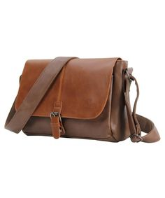 678e58d289 Men s Vintage PU Leather Messenger Bag Satchel Shoulder Laptop Bags  Business Working Bag - Brown -