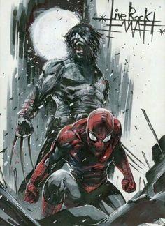 Wolverine & Spider-Man
