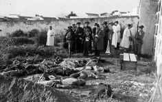Muertos en la revuelta de Casas Viejas (Cádiz) en 1933.