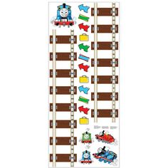RoomMates - Peel & Stick Growth Chart, Thomas & Friends