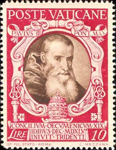 Papa Paolo III Pope Paul Iii, Postage Stamp Art, Rome, Stamp Collecting, Vatican City, Poster, Portraits, Beautiful, Postage Stamps