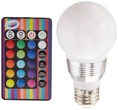 Crayola CRA_RGB Multicolor LED Bulb: Now you can color your rooms with this  easy to use led light bulb. Designated to fit standard light sockets, ...