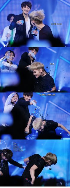 Taemin Minho Jonghyun. I love how Taemin just comes up from behind and gets Minho while Minho gets Jonghyun. Taemin is such am adorable evil maknae.