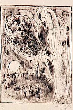 David and Bathsheba - Marc Chagall