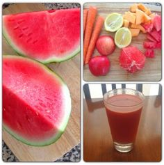 Living Simply Morning Melon Juice Recipe so yummy I used 2 carrots instead and added ginger root Fresh Juice Recipes, Yummy Smoothie Recipes, Healthy Juice Recipes, Juicer Recipes, Healthy Juices, Healthy Drinks, Nutribullet Recipes, Healthy Shakes, Blender Recipes