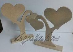 Ξυλινα αντικειμενα με διακοσμητικες καρδιες , για την διακοσμηση του χωρου σας !! Ιδανικα επισης για στολισμο γαμου , βαπτισης. Κατασκευες απο MDF 6''. #woooden #treeoflife #wedding #baptism #decor #wishes #hearts #treeofhearts #decoupage #painting #crafting #Γαμος #Βαπτιση #διακοσμηση #ΔεντροΖωης