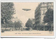 PARIS 16è - Rue d'Auteuil - Place du Marché (dirigeable )