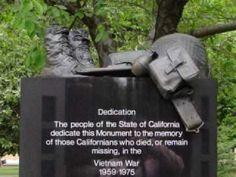 Vietnam Veterans Memorial Sacramento California
