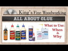 What to Use and How, The Science Behind It. First 30 Min. Woodworking Glue, Woodworking Mallet, What To Use, Spray Bottle, Holiday Fun, Science, Learning, Youtube, Science Comics