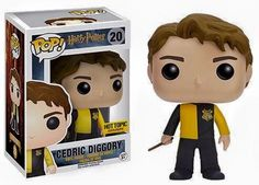 Your favorite characters from Harry Potter are adorable Pop! This Harry Potter Cedric Diggory Pop! Vinyl Figure features the former Triwizard Champion, holding his wand at the ready. Harry Potter Film, Harry Potter Pop Vinyl, Objet Harry Potter, Funko Harry Potter, Figurine Pop Harry Potter, Harry Potter Pop Figures, Ron Y Hermione, Ginny Weasley, Draco Malfoy