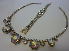 Vintage WEISS Aurora Borealis Rhinestone Demi by labaublesandbags, $65.00