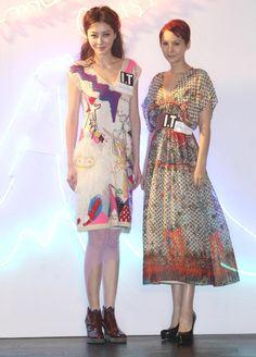Lynn Fung and Amanda S in Tsumori Chisato