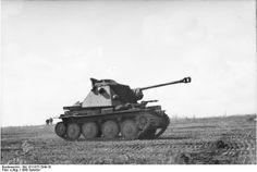 Marder III Ausf. H (7.5cm Pak 40/3 auf Pz 38(t) Sd Kfz 138); 1/Pzjager Abt. 41, 6. Panzer-Division, Kursk, 1943