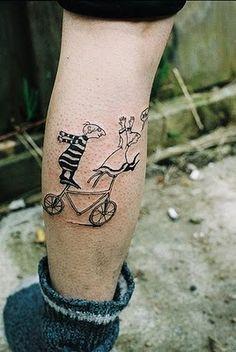 Edward Gorey-esque Tattoo art