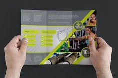 PsdAndAiFitnessBrochurePack   Fitness Brochure Template