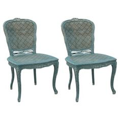 Check Out This Item At One Kings Lane! Darla Dining Chairs, Pair