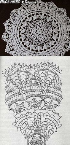 free crochet patterns, darmowe wzory szydełkowe, wzory obrusów szydełkiem, wzory serwet szydelkiem Knitting For BeginnersCrochet For BeginnersCrochet PatronesCrochet Scarf Filet Crochet, Crochet Doily Diagram, Crochet Doily Patterns, Crochet Round, Crochet Chart, Lace Patterns, Thread Crochet, Crochet Motif, Crochet Designs