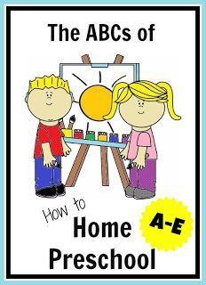 Great philosophy and practical advice on the how to's of doing preschool at home from Genny at In Lieu of Preschool.