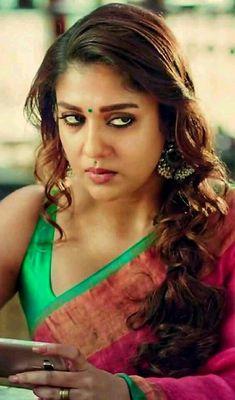 Beautiful Girl Indian, Most Beautiful Indian Actress, Beautiful Saree, Beautiful Actresses, Most Beautiful Women, South Actress, South Indian Actress, Nayanthara Hairstyle, Nayantara Hot
