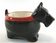 Scottish Terrier or Scotty Dog Ceramic Egg Cup by Enesco | eBay