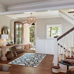 Accessible Beige SW 7036 by Vivid Interior Design Sw 7036, Hardwood Floor Colors, Hardwood Floors, Living Colors, Beige Living Rooms, Lakeside Cottage, Kitchen Wall Colors, Kitchen Paint, Room Kitchen
