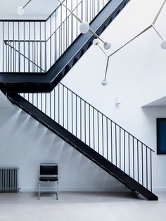 Florida Street by Paper House Project is a converted warehouse in east London ~ETS #staircases
